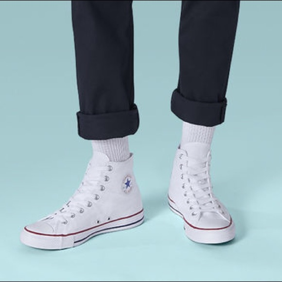 Converse Shoes | Nwot White High Top
